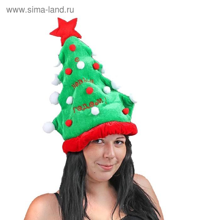 """Карнавальная шляпа """"С Новым годом! Ёлочка"""""""
