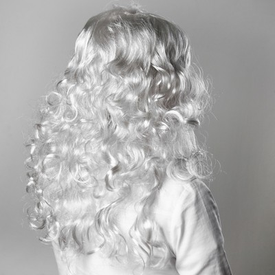Карнавальный парик «Блондинка», кудрявые концы, 120 г