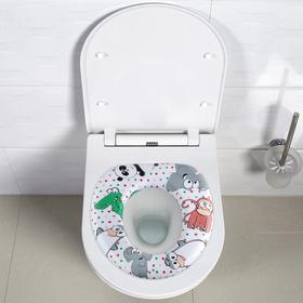 Сиденье для унитаза детское Длояна «Зоо»