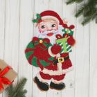 """Poster """"Santa Claus with presents"""" Shine 9*30 cm"""