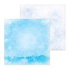 Бумага для скрапбукинга «Снежный лес», 30,5 × 30,5 см