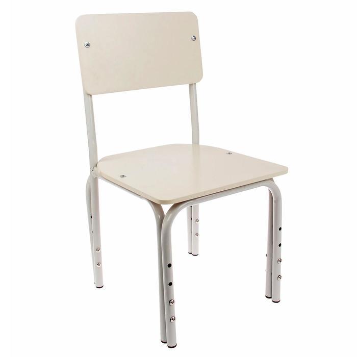 """Детский стульчик """"Кузя"""", прямая спинка, регулируемый, разборный"""