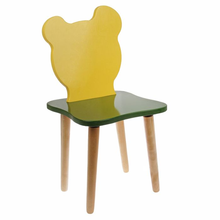 """Детский стульчик """"Джери"""", зелёно-жёлтый, высота 30 см"""