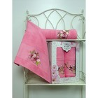 Комплект полотенец MERZUKA махр.в кор 50x90/70х140 2шт SAKURA розовый хл.460г/м