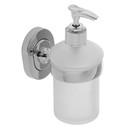 Дозатор для жидкого мыла Accoona A11513, настенный, стекло, хром