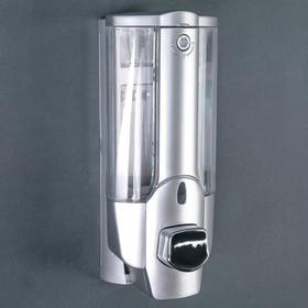 Диспенсер для жидкого мыла настенный Accoona A183, 350 мл, пластик, цвет серый