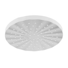 Душевая лейка Accoona A353, на шарнирном креплении, d=20 см, круг, пластик