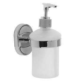 Дозатор для жидкого мыла настенный Accoona А11213, 200 мл, стекло