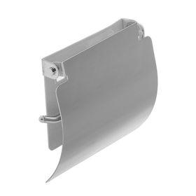 Держатель для туалетной бумаги Accoona А203, с крышкой, цвет хром