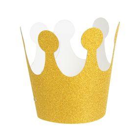 Карнавальная корона «Великолепие», на резинке, цвет золотой в Донецке