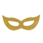 "Carnival mask ""the Stranger"", the color gold"