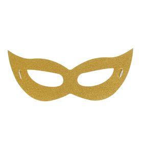 Карнавальная маска «Незнакомка», цвет золотой в Донецке