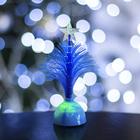 """Игрушка световая """"Ёлочка"""" (батарейки в комплекте) 14 см, 1 LED, RGB, синяя"""