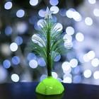"""Игрушка световая """"Ёлочка"""" (батарейки в комплекте) 17 см, 1 LED, RGB, зеленая"""