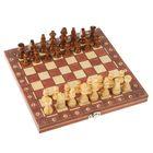 Шахматы на магнитах, +Нарды, 2в1, дерево, 24*4*12см