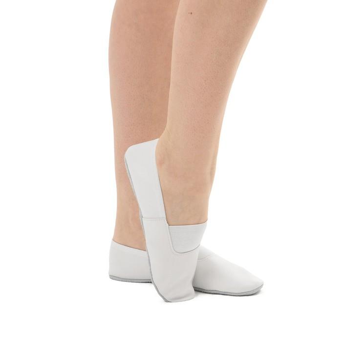 Чешки комбинированные, цвет белый, размер 23 (16,5 см)