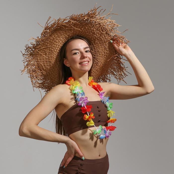 Гавайское ожерелье многоцветное {Сима-Ленд}
