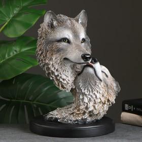 """Фигура """"Две головы волка"""" 40×30см"""