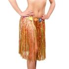 Гавайская юбка, разноцветная