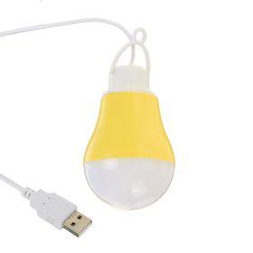 Светильник Luazon светодиодный с подвесом, от USB, 5 ватт, 9 диодов, микс