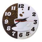 """Часы """"Кофейные"""" круглые, Ø 25 см"""