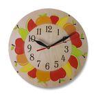 """Часы """"Яблочки"""" круглые, Ø 25 см"""