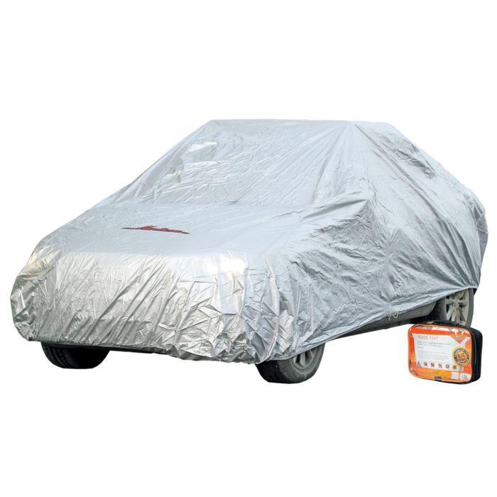 Тент на автомобиль защитный, размер 520х192х120см, серый AC-FC-03