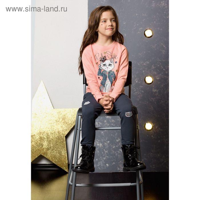 Комплект для девочки, рост 86 см, цвет персиковый GFANP3031