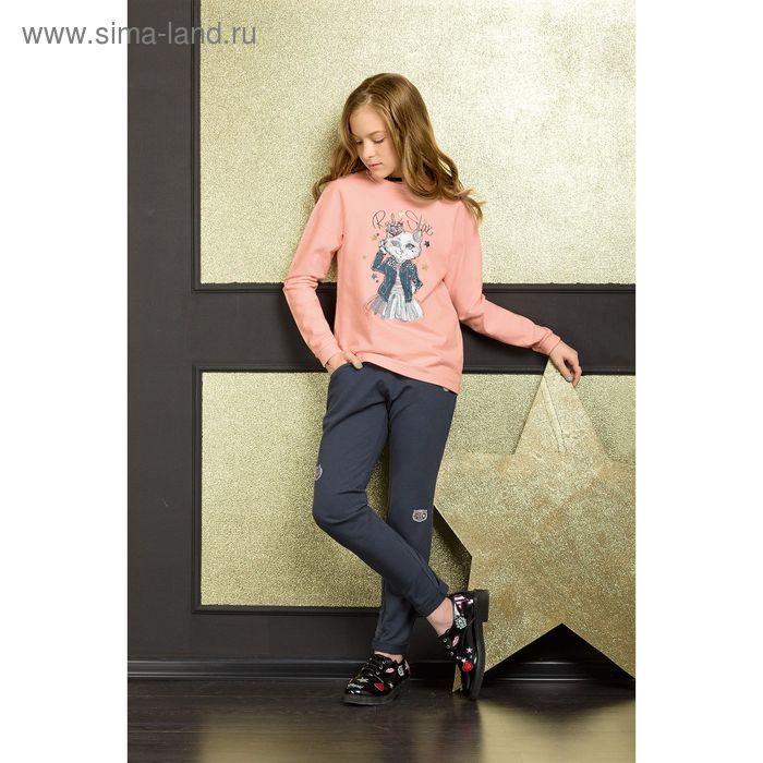 Комплект для девочки, рост 116 см, цвет персиковый GFANP4031