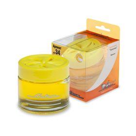 """Ароматизатор банка """"Галактика"""" ваниль желтый цвет AF-A01-VA"""