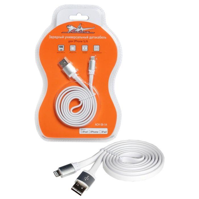 Зарядный универсальный датакабель для IPhone 5/6ACH-I6-14