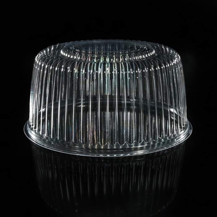 Крышка к контейнеру ИП-212АB, круглая, прозрачная, 22,4х10,7 см