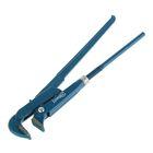 Ключ трубный Hardax, рычажный, №2, раскрытие губ 20-50 мм, 90°, прямые губы