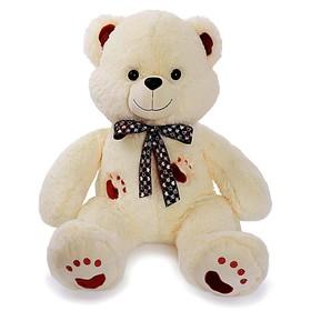 Мягкая игрушка «Медведь Френк», 90 см, цвет молочный