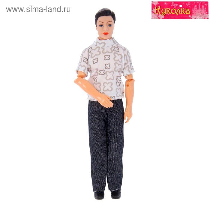 """Кукла шарнирная """"Сэм"""" в костюме"""