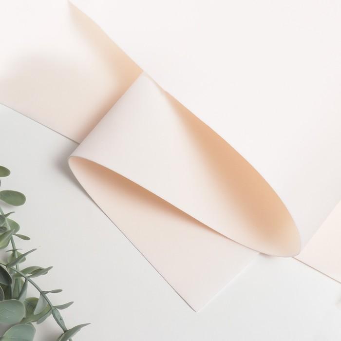 Фоамиран иранский 0,8-1 мм (туманно-розовый) 60х70 см