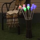 """Светодиод. гирлянда уличная """"Лампочки Белые"""", 10 штук, 70 см, МУЛЬТИ"""