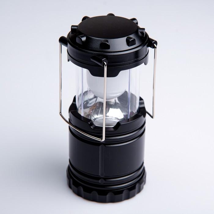 Фонарь переносной, светодиодная лента, 3 АА, 12.5 × 8.5 см