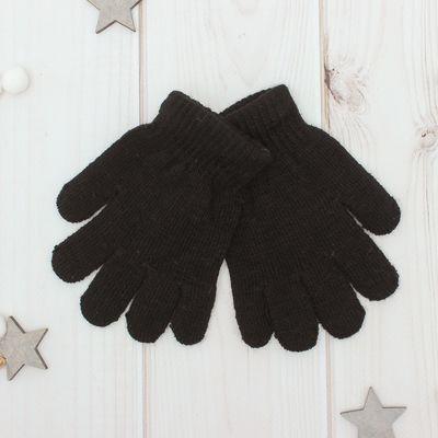 """Перчатки """"Collorista"""" Радуга, размер 18, цвет чёрный"""