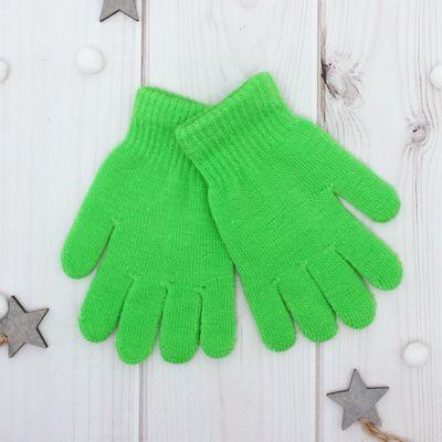 """Перчатки Collorista """"Радуга"""", размер 14 (р-р произв. 14*7 см), цвет зелёный"""