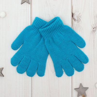"""Перчатки Collorista """"Радуга"""", размер 14 (р-р произв. 14*7 см), цвет голубой"""