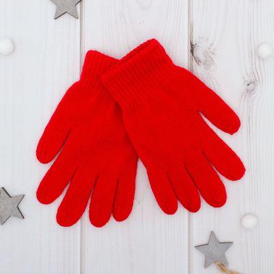 """Перчатки """"Collorista"""" Радуга, размер 18, цвет красный"""