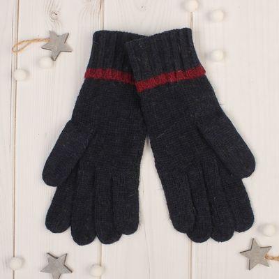 """Gloves women's """"Dahlia"""" size 16 (p-R production. 8) color dark blue"""