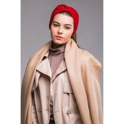 """Повязка женская """"Марьям"""", размер 54-56, цвет бордовый"""