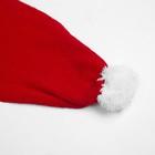 Комплект для девочки (шапка, шарф), размер 50, цвет красный - фото 105567284