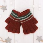 "Wool mittens for boys Collorista ""Archie"", size 14 (R-R MFR. 16*7 cm)"