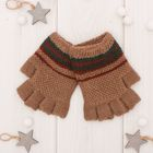 "Wool mittens for boys Collorista ""Bart"", size 14 (R-R MFR. 16*7 cm)"