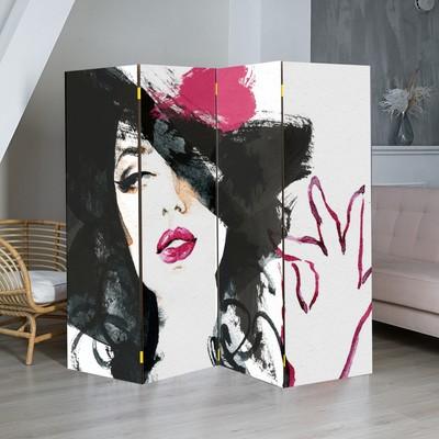 """Ширма """"Красотка"""", 200 × 160 см"""