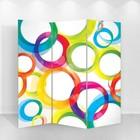 """Ширма """"Цветные круги"""" 150 × 160см"""