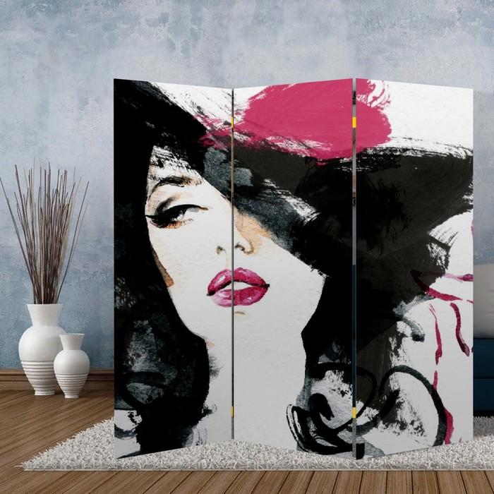 """Ширма """"Красотка"""", 160 × 150 см"""